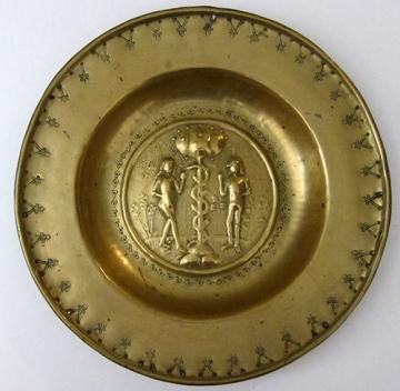 Brass dish, Nuremberg, c. 1575